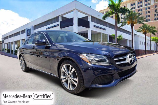 2017 Mercedes-Benz C 300 Sedan Y6109 Coral Gables FL