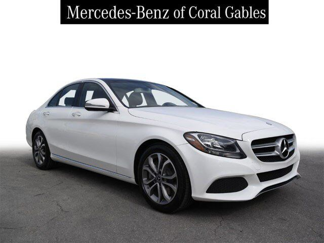 2017 Mercedes-Benz C 300 Sedan Coral Gables FL