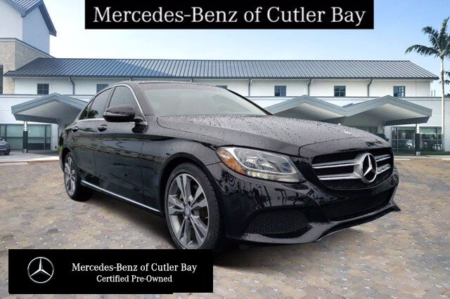 2017 Mercedes-Benz C 300 Sedan V604CB Cutler Bay FL