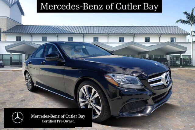 2017 Mercedes-Benz C 300 Sedan V341CB Cutler Bay FL