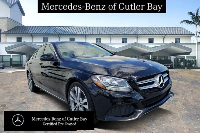 2017 Mercedes-Benz C 300 Sedan V239CB Cutler Bay FL