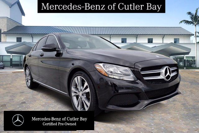 2017 Mercedes-Benz C 300 Sedan # V948CB Cutler Bay FL