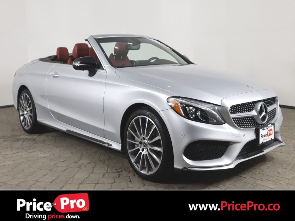 2017 Mercedes-Benz C 300 Sport 4MATIC Cabriolet w/Nav Maumee OH