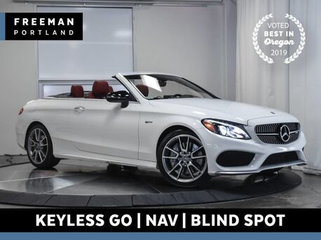 2017_Mercedes-Benz_C 43_AMG Cabriolet 4MATIC Heated Seats Nav Keyless Go_ Portland OR