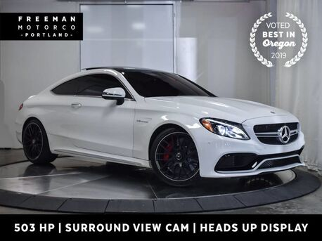 2017_Mercedes-Benz_C 63 S_AMG Coupe 503 HP Head-Up Display Vented Seats_ Portland OR