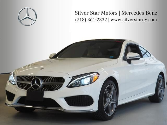 2017 Mercedes-Benz C-Class 300 4MATIC® Coupe Long Island City NY