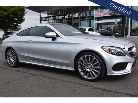 2017_Mercedes-Benz_C-Class_300 4MATIC® Coupe_ Medford OR