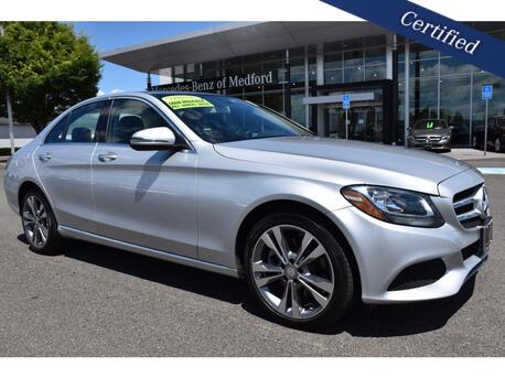 2017_Mercedes-Benz_C-Class_300 4MATIC® Sedan_ Medford OR