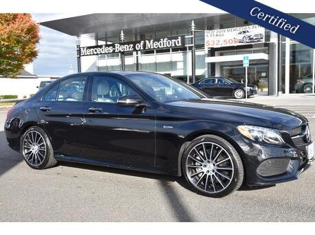 2017_Mercedes-Benz_C-Class_AMG® 43 Sedan_ Medford OR