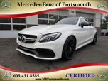 2017 Mercedes-Benz C-Class AMG® 63 S Coupe