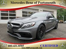 2017_Mercedes-Benz_C-Class_AMG® 63 S Coupe_ Greenland NH
