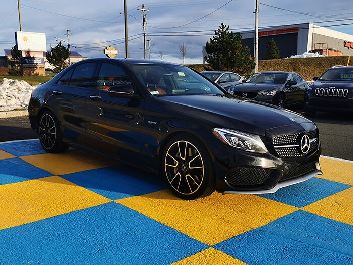 2017 Mercedes-Benz C-Class AMG C 43 Mount Pearl NL