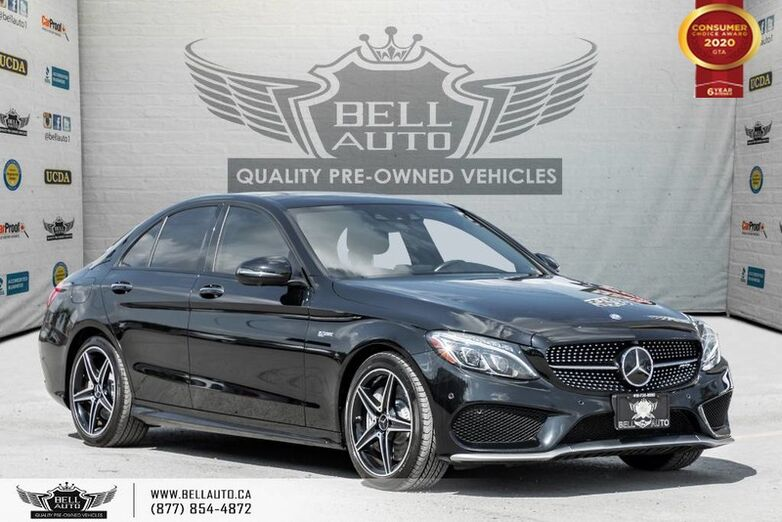 2017 Mercedes-Benz C-Class AMG C 43, NO ACCIDENT, NAVI, 360 CAM, B.SPOT Toronto ON