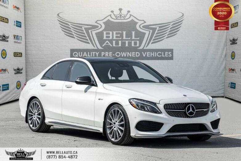 2017 Mercedes-Benz C-Class AMG C 43, NO ACCIDENTS, AWD, NAVI, REAR CAM, B.SPOT Toronto ON