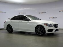 2017_Mercedes-Benz_C-Class_AMG C 43 Pano,Red Seat Belts,RearView Cam_ Houston TX