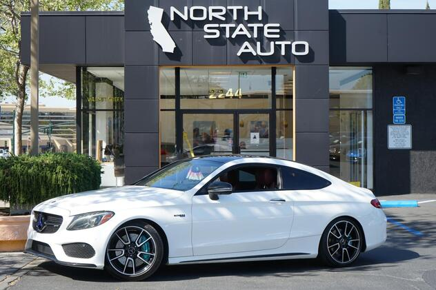 2017_Mercedes-Benz_C-Class_AMG C 43_ Walnut Creek CA