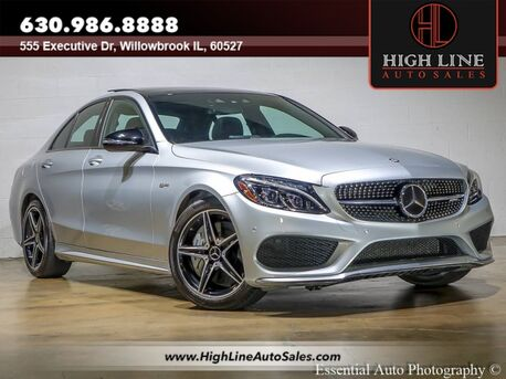 2017_Mercedes-Benz_C-Class_AMG C 43_ Willowbrook IL