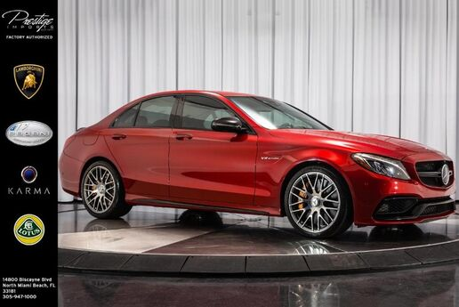 2017 Mercedes-Benz C-Class AMG C 63 S North Miami Beach FL