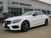 2017_Mercedes-Benz_C-Class_AMG43 Coupe*,ALL WHEEL DRIVE,PANORAMIC ROOF,BLINDSPOT,HEATED SEATS,PREMIUM SOUND_ Plano TX