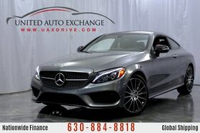 2017_Mercedes-Benz_C-Class_C 300 2.0L Turbo Engine AWD 4Matic w/ Sunroof, Navigation, Heated & Ventilated Front Seats, Blind Spot Assist, Burmester Surround System, Diamond Grill, Bluetooth Connectivity_ Addison IL