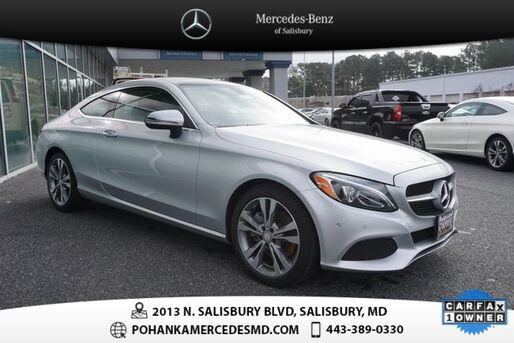 2017_Mercedes-Benz_C-Class_C 300 4MATIC®  ** MERCEDES BENZ CERTIFIED  **_ Salisbury MD
