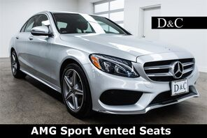 2017_Mercedes-Benz_C-Class_C 300 4MATIC AMG Sport Vented Seats_ Portland OR