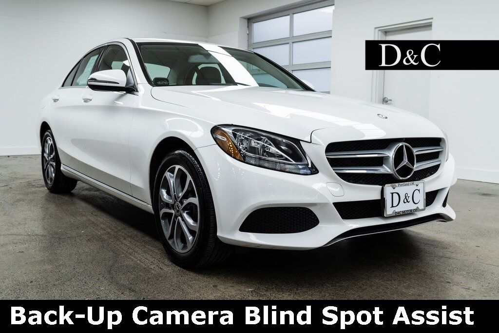 2017 Mercedes-Benz C-Class C 300 4MATIC Back-Up Camera Blind Spot Assist Portland OR