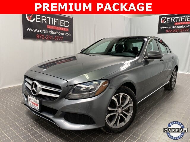 2017 Mercedes-Benz C-Class C 300 4MATIC PREMIUM PKG NAVIGATION PANORAMIC ROOF Dallas TX