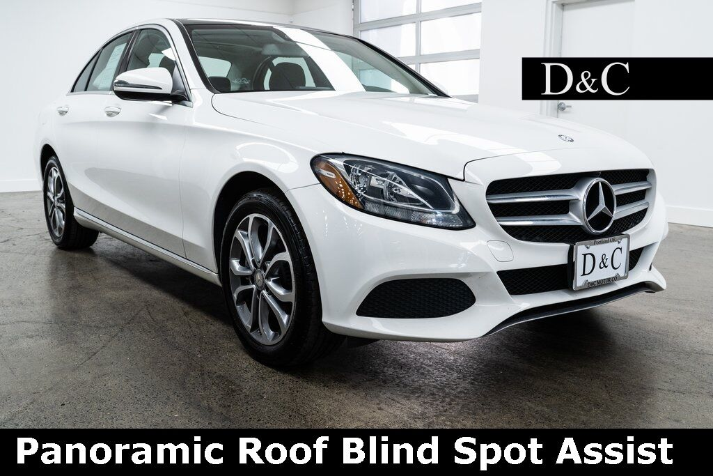 2017 Mercedes-Benz C-Class C 300 4MATIC Panoramic Roof Blind Spot Assist Portland OR