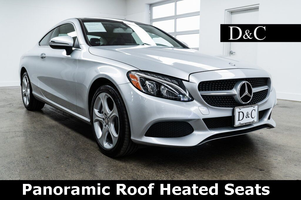 2017 Mercedes-Benz C-Class C 300 4MATIC Panoramic Roof Heated Seats Portland OR