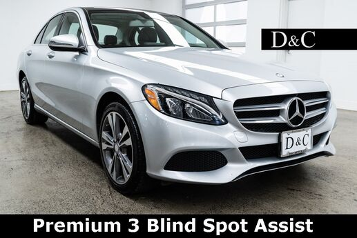 2017 Mercedes-Benz C-Class C 300 4MATIC Premium 3 Blind Spot Assist Portland OR