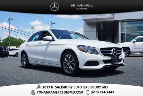 2017_Mercedes-Benz_C-Class_C 300 4MATIC®  ** 10 YEAR / UP TO 100,000 POWERTRAIN WARR **_ Salisbury MD