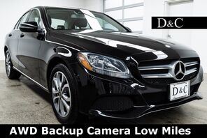 2017_Mercedes-Benz_C-Class_C 300 4MATIC® Backup Camera Low Miles_ Portland OR