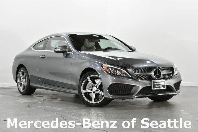 2017 Mercedes-Benz C-Class C 300 4MATIC® Coupe Seattle WA