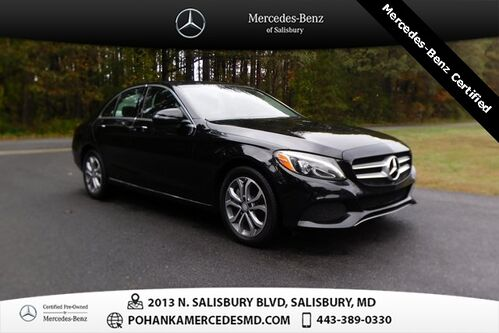 2017_Mercedes-Benz_C-Class_C 300 4MATIC® Mercedes-Benz Certified Pre-Owned_ Salisbury MD