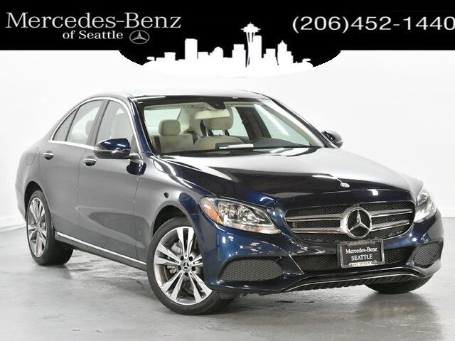 2017 Mercedes-Benz C-Class C 300 4MATIC® Sedan with Sport Pkg Seattle WA