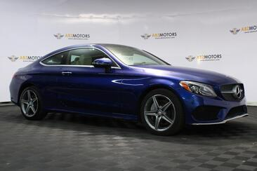 2017_Mercedes-Benz_C-Class_C 300 4Matic Coupe, AMG Wheels, Sport Package_ Houston TX