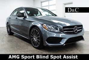 2017_Mercedes-Benz_C-Class_C 300 AMG Sport Blind Spot Assist_ Portland OR