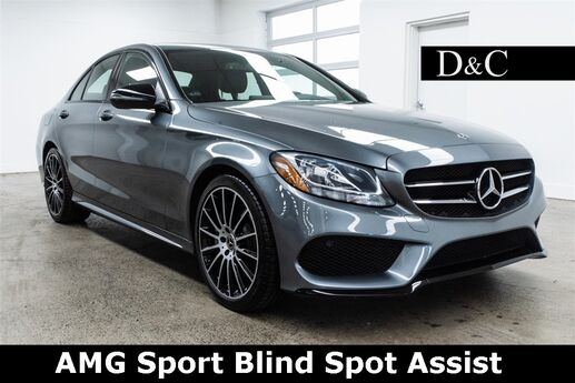 2017 Mercedes-Benz C-Class C 300 AMG Sport Blind Spot Assist Portland OR