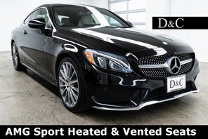 2017_Mercedes-Benz_C-Class_C 300 AMG Sport Heated & Vented Seats_ Portland OR