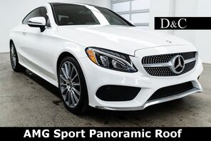 2017_Mercedes-Benz_C-Class_C 300 AMG Sport Panoramic Roof_ Portland OR