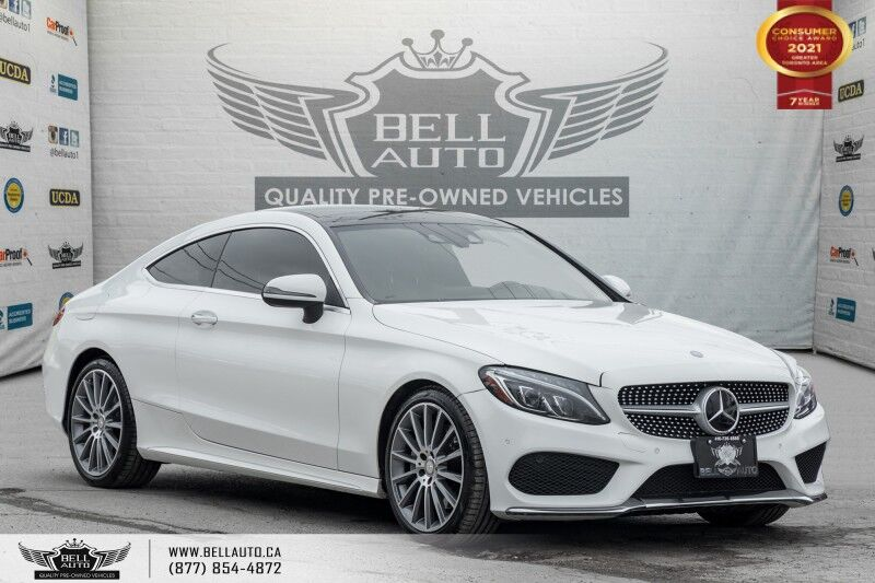 2017 Mercedes-Benz C-Class C 300, AWD, AMG PKG, COUPE, NAVI, REAR CAM,P. ROOF Toronto ON