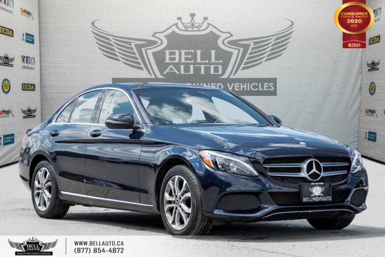 2017 Mercedes-Benz C-Class C 300, AWD, NAVI, REAR CAM, B.SPOT Toronto ON