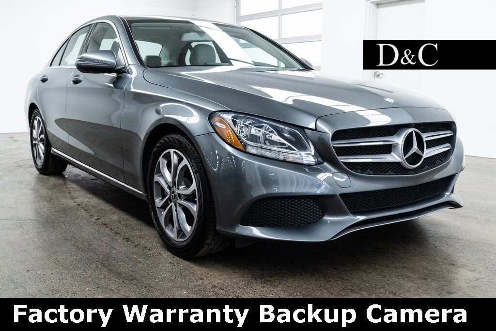 2017 Mercedes-Benz C-Class C 300 Backup Camera Portland OR