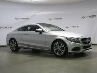 2017_Mercedes-Benz_C-Class_C 300 Blind Spot,Camera,Burmester Sound,Heated Seats_ Houston TX