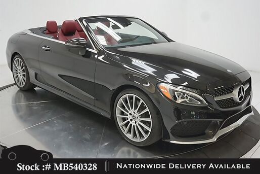2017_Mercedes-Benz_C-Class_C 300 Convertible AMG SPORT,HEADS UP,DESIGNO STS_ Plano TX