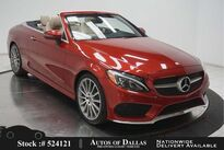 Mercedes-Benz C-Class C 300 Convertible AMG SPORT,NAV,CAM,LED LIGHTS 2017