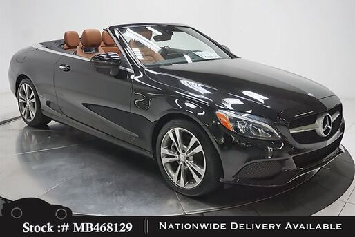 2017_Mercedes-Benz_C-Class_C 300 Convertible NAV READY,CAM,HTD STS,LED LIGHTS_ Plano TX