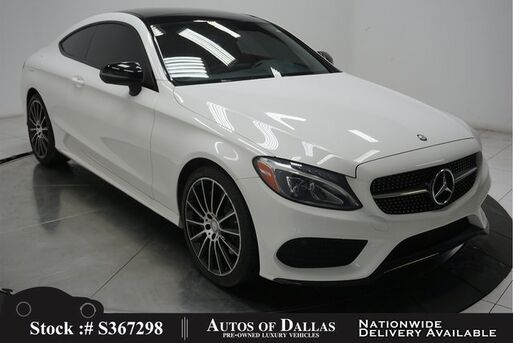 2017_Mercedes-Benz_C-Class_C 300 Coupe AMG SPORT,NAV,CAM,PANO,LED LIGHTS_ Plano TX