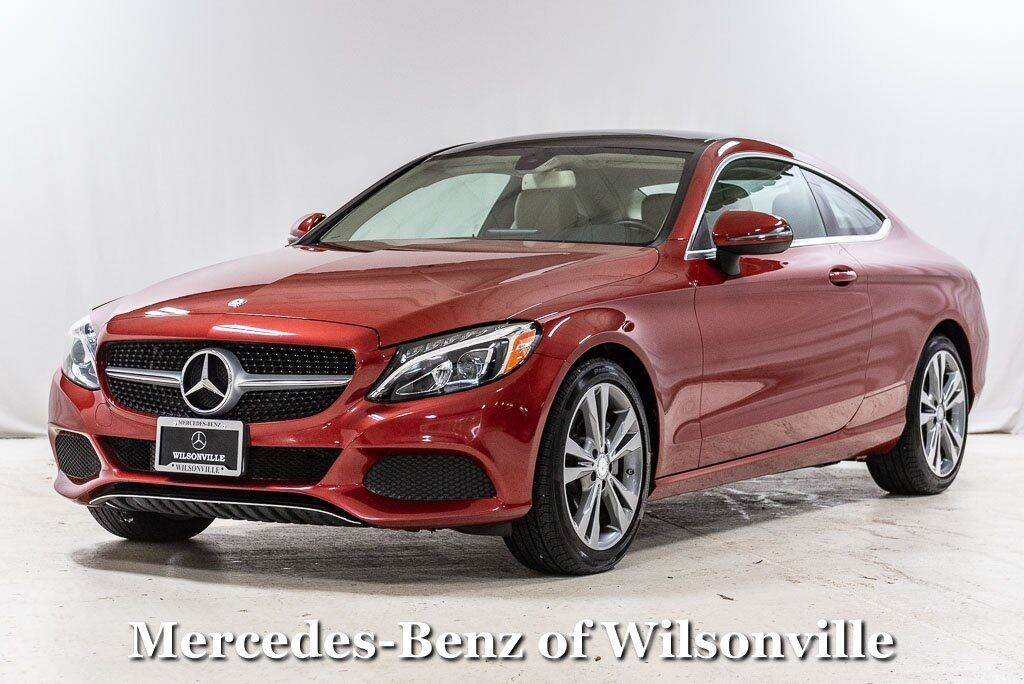2017 Mercedes-Benz C-Class C 300 Coupe Wilsonville OR